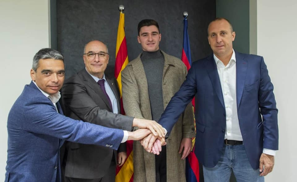 Ludo prolonge au FC Barcelone